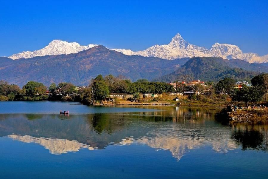 Pokhara of Nepal