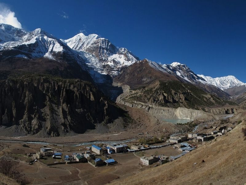 Manaslu Annapurna Trek Itinerary