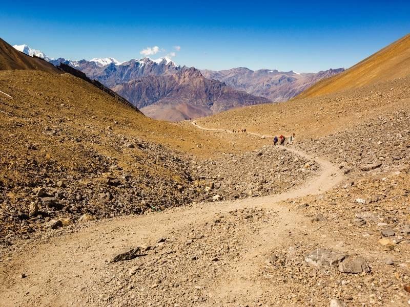 Short Annapurna Circuit Trek Itinerary