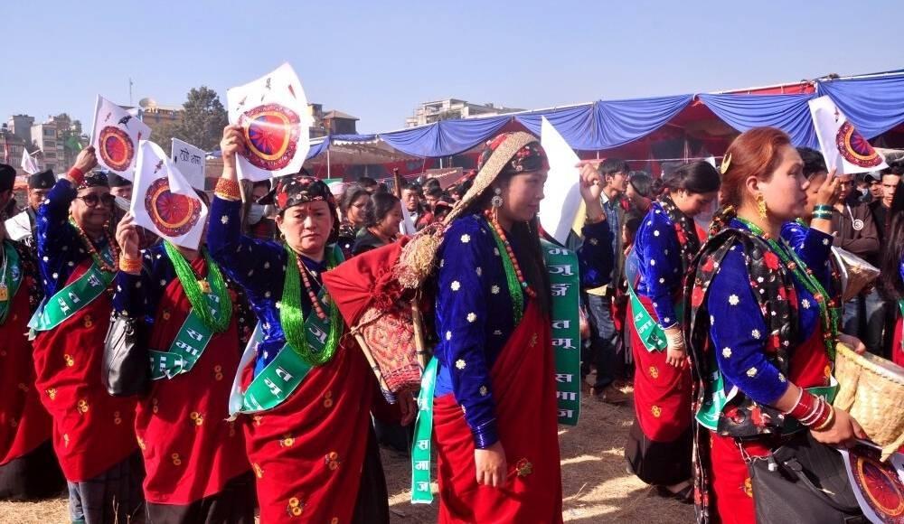 Losar festival celebration in nepal