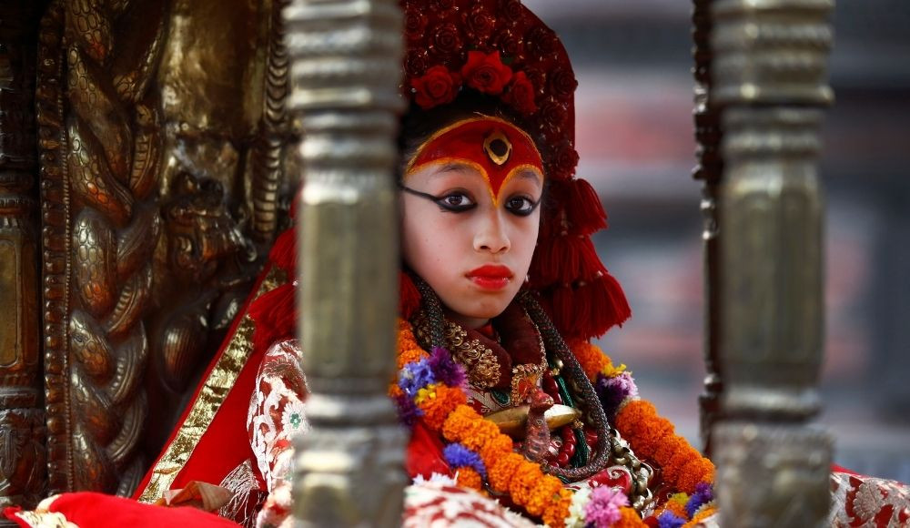 Indrajatra Festival in Nepal