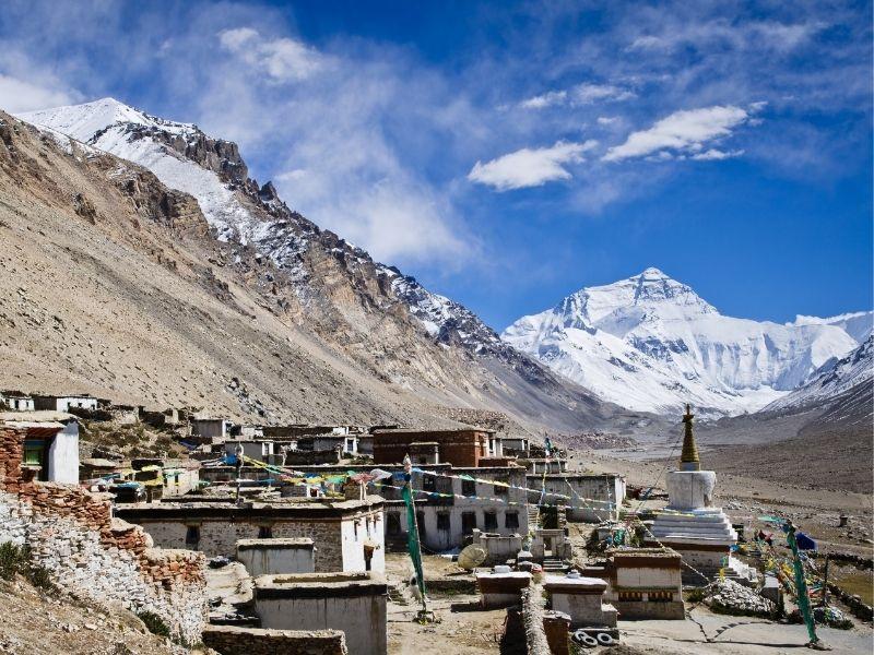 Kailash Mansarovar via Lhasa